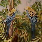 Bushland Chatter  (sold) 1-10-2013 by Sandra  Sengstock-Miller
