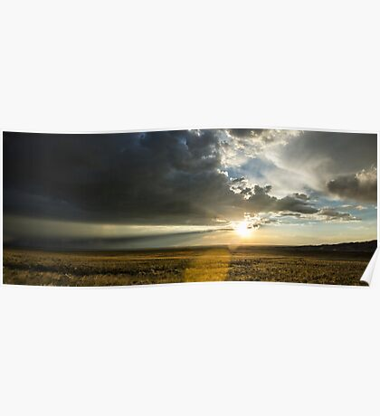 Single Ray - Great Sand Dunes National Park, Colorado Poster