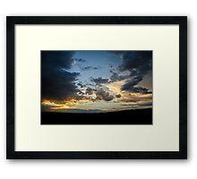 Dusk Over the Dunes - Great Sand Dunes National Park, Colorado Framed Print