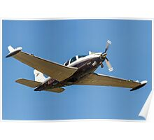 Beechcraft A36 Bonanza N8220M Poster