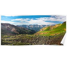 The Sun Juan Mountains Poster