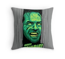 Here's Zombie! Throw Pillow