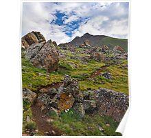 Sun Juan Mountain Trail Poster