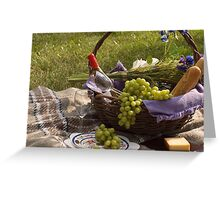 Picnic Greeting Card