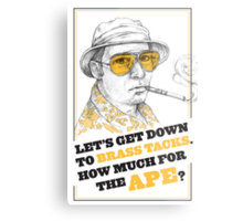 FEAR AND LOATHING IN LAS VEGAS- HUNTER S. THOMPSON Metal Print
