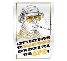 FEAR AND LOATHING IN LAS VEGAS- HUNTER S. THOMPSON Poster