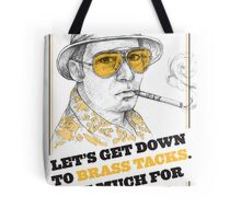 FEAR AND LOATHING IN LAS VEGAS- HUNTER S. THOMPSON Tote Bag