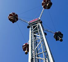 Coney Island Amusement Ride by Russell Fry