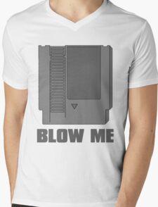 Blow Me Mens V-Neck T-Shirt