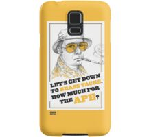 FEAR AND LOATHING IN LAS VEGAS- HUNTER S. THOMPSON Samsung Galaxy Case/Skin