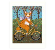 Bringing Home the Pumpkins Art Print