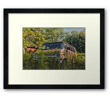Vannin' ! Framed Print