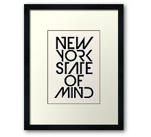 New York State of Mind Framed Print