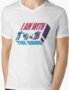 I am with the band Mens V-Neck T-Shirt