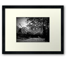Traditional Traveller Caravan Framed Print