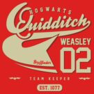 Ron Weasley - Quidditch Shirt  by soulthrow