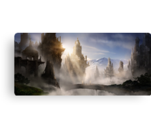 Skyrim Fantasy Ruins Canvas Print