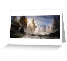 Skyrim Fantasy Ruins Greeting Card