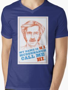 RAISING ARIZONA - H.I. McDonnangh Mens V-Neck T-Shirt