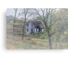 Empty Old Houses Canvas Print