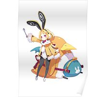 disgaea usalia and fat prinnie Poster