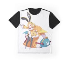 disgaea usalia and fat prinnie Graphic T-Shirt