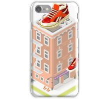 NYC Map Building Isometric iPhone Case/Skin