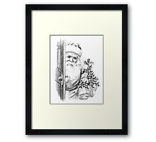 Santa Claus Is Coming To Town!  Framed Print