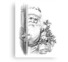 Santa Claus Is Coming To Town!  Canvas Print