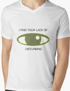 Focus Mens V-Neck T-Shirt