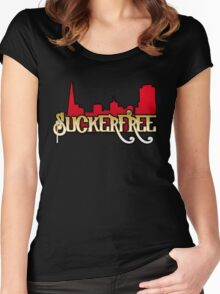 SuckerFree Niners Edition Women's Fitted Scoop T-Shirt