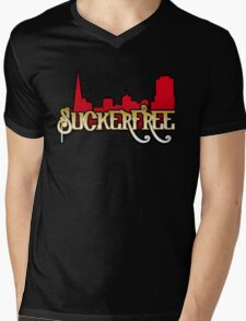 SuckerFree Niners Edition Mens V-Neck T-Shirt