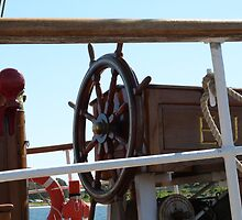 The 'Europa's Steering Wheel, Tall ships. by Rita Blom