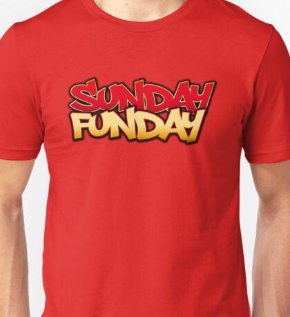 Sunday Funday Niners Edition Unisex T-Shirt