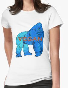Gorilla V Womens Fitted T-Shirt