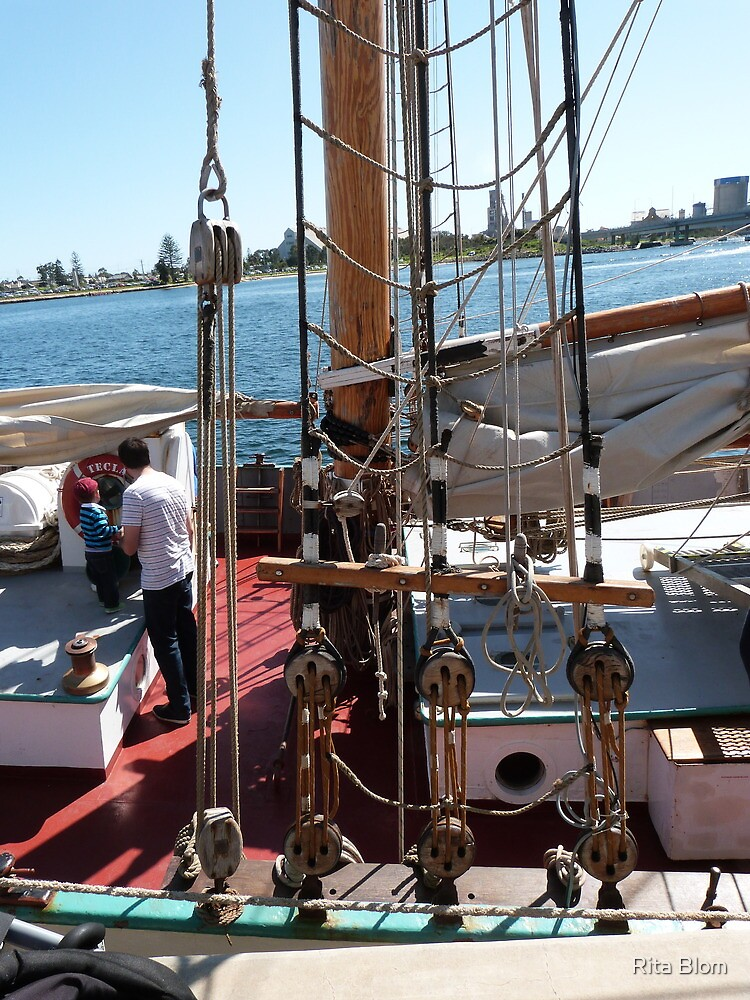 'WHEN I GROW UP!' Tall ships Festival, Adelaide. S.A. by Rita Blom