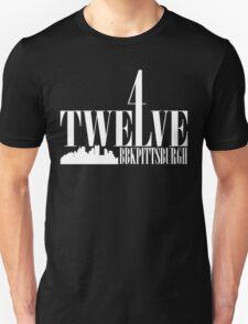 4Twelve White Print Unisex T-Shirt