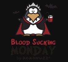 Blood Sucking Monday! - Vampire Penguin Kids Clothes