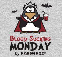 Blood Sucking Monday! - Vampire Penguin One Piece - Long Sleeve
