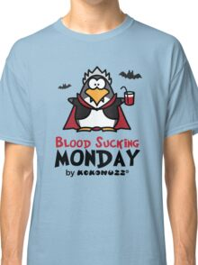 Blood Sucking Monday! - Vampire Penguin Classic T-Shirt