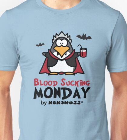 Blood Sucking Monday! - Vampire Penguin Unisex T-Shirt