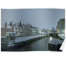 Westgate towers at night Poster