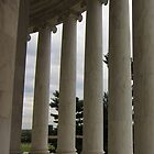 Columns - Jefferson Memoral by corrado