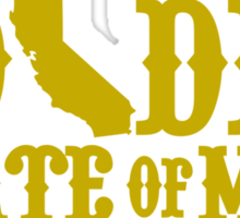Golden State of Mind Niners Edition Sticker