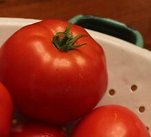 Tomatoes from the Garden by Cathy Klima