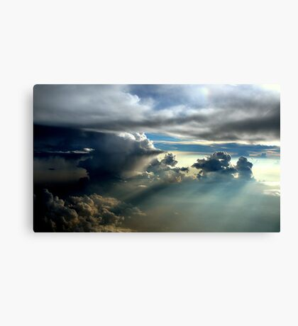 Sunset Cloudscape Canvas Print