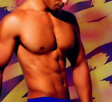 Handsome Asian Hunk by BrianJoseph