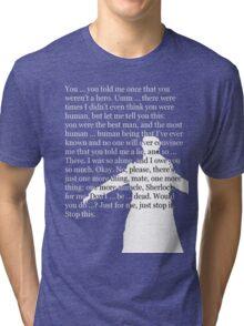 Reichenbach Fall (for dark base colours) Tri-blend T-Shirt