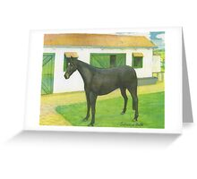Seductive Belle - portrait Greeting Card
