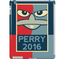 Perry the Platypus For President 2016 iPad Case/Skin